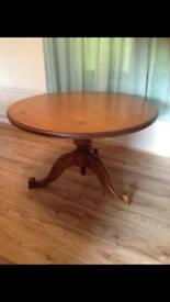 Solid wood dining table £10