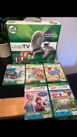 Leap TV + 5 Games