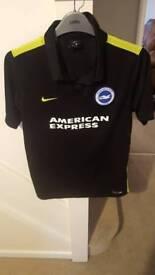 Brighton & Hove Albion Black Away Shirt