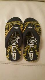 Animal Boys NEW Flip flops size 2