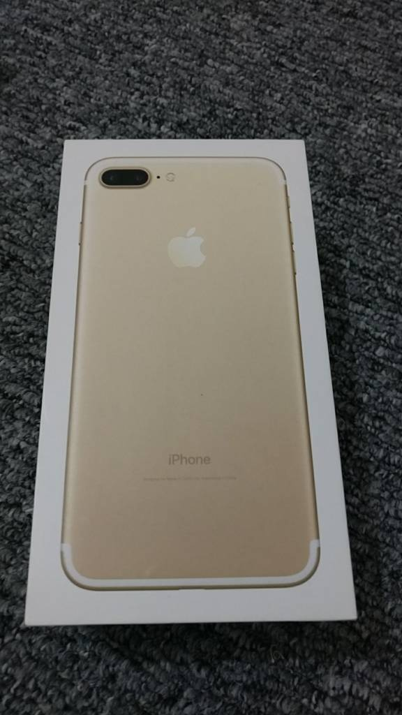 Apple iPhone 7 Plus 32GB Unlocked Mint condition in Gold