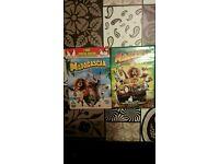 DVD Madagascar 1 & 2