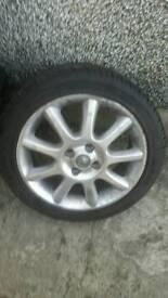 16' alloy wheel