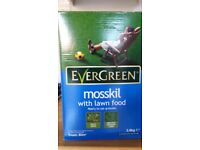 Evergreen mosskil NEW + plant food and + Resolva weedkiller