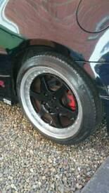 Rays RBT Split rims 5x114.3 alloy wheels
