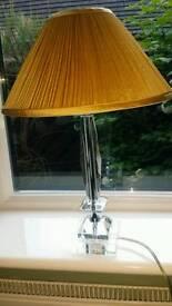 Lamp clear resin