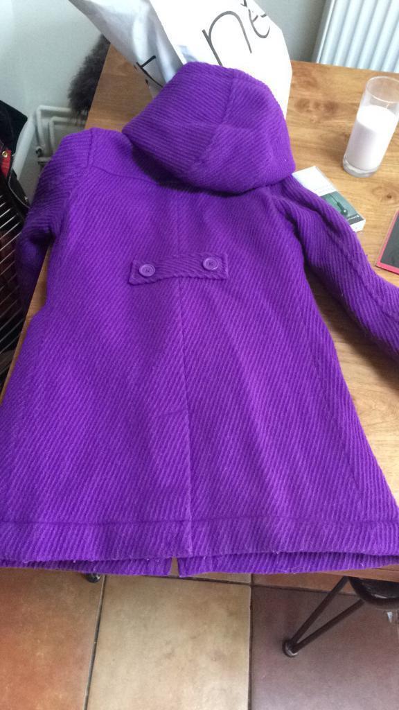 Girls Boden duffle coat 7-8