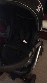 Toto 3 in 1 pushchair