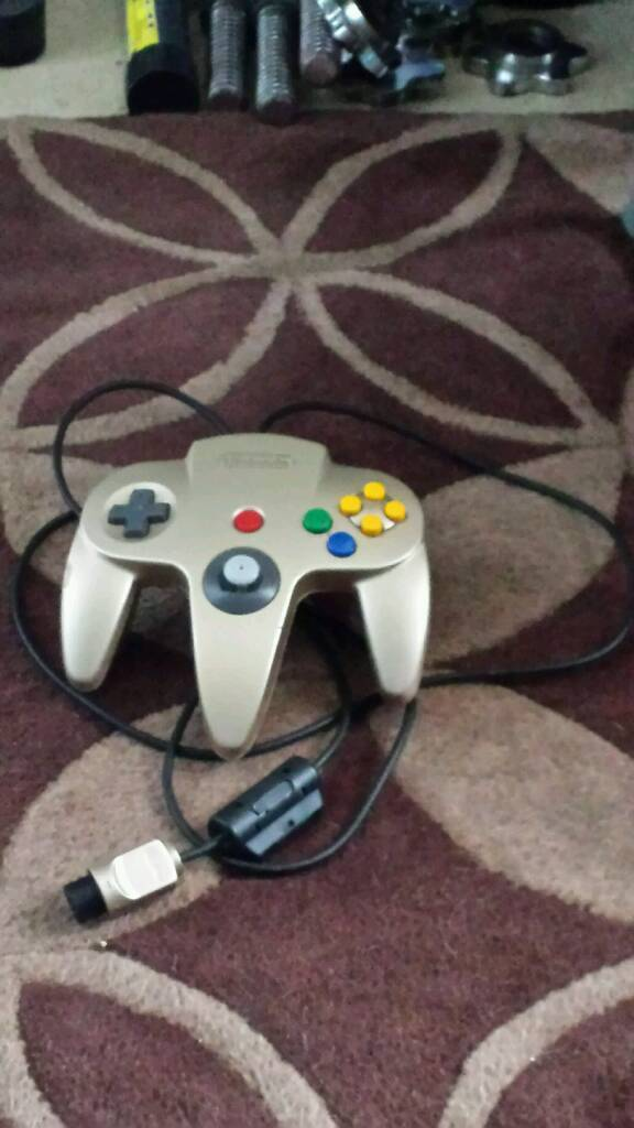 Official N64 Gold Controller