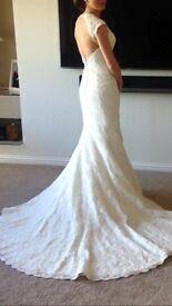 Sophia Tolli lace wedding dress, size 6