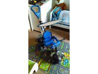 Blue little tikes children's trike