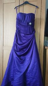 Beautiful Cadbury purple bridesmaid dress.could also be used for prom.