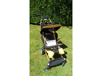 ABC Design Takeoff Stroller,Black&Gold,Exc Cond, Perfect for Travelling!Lightweight/Nifty Folding