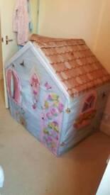 children's rose petal cottage play house