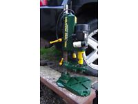 Record Power Morticer stand drill with bits and accessories