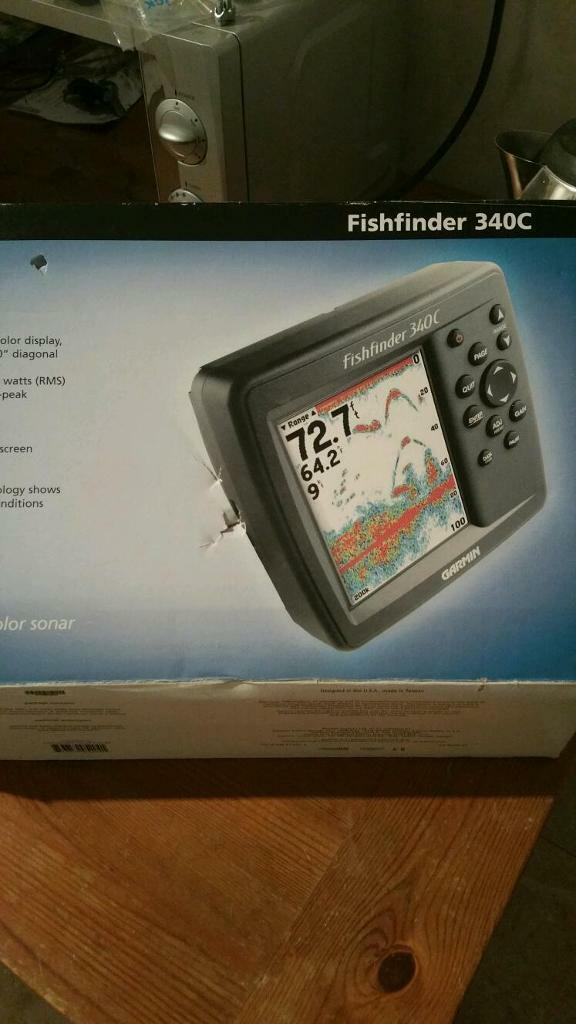 garmin 340c fish finder for sale | in dundonald, belfast | gumtree, Fish Finder