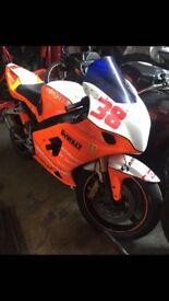 Suzuki GSXR 1000 K4 Track Bike
