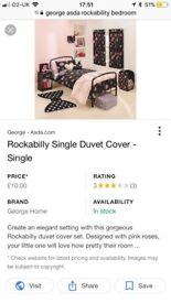 George girls rockability bedroom set