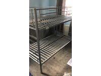 Metal single bunkbed