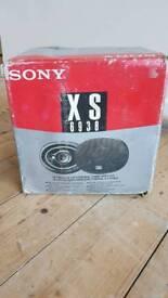 Sony 6x9 car speakers