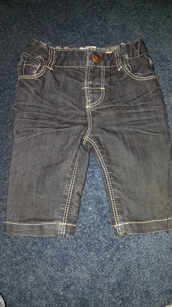 Mamas and papas jeans 0-3 months