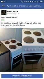 Brand new beko cooker