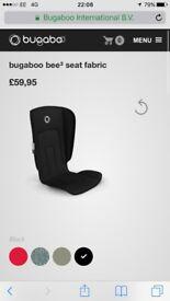 Bugaboo Bee3 seat fabric black brand new in box £45
