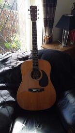 HOHNER vintage full size Western acoustic guitar
