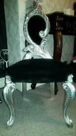 Armchair Chair french rococo baroque ornate carved