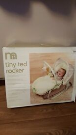 Mothercare tiny ted rocker