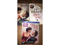 Me before you DVD and books