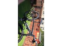 Black Merida mountain bike