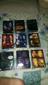 X File dvds season 1-9