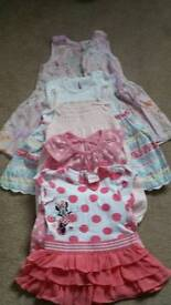 Baby girls dresse bundle 3-6 months