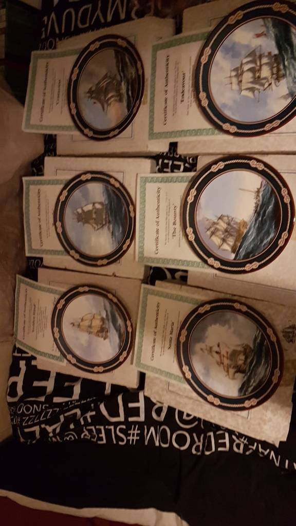 fully documented and each authenticated set of collective seafaring ships