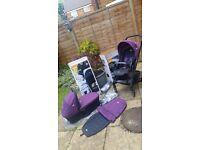 Joie pram & pushchair in good condition