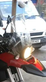 Bmw gs 1200 touring screen