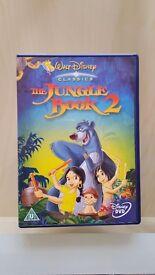 5 x assorted children's DVD'S