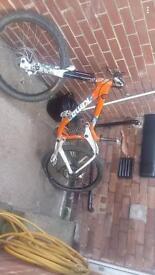 full suspension mounting bike