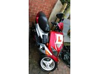 50cc Peugeot Speedfight sports in good condition
