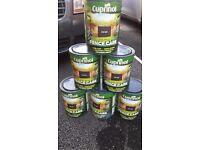 Cuprinol Fence Care - Rich Oak (6x New large unopened tins)