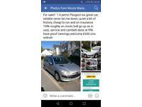1.4 Peugeot estate