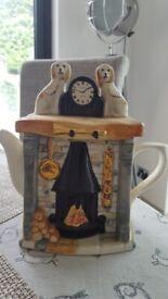 Teapot novelty fire place
