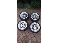 "Stuttgart ST5 15"" alloy wheels with tyres"