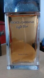 Dolce and Gabbana Light Blue - Sunset in Salina limited edition 50 ml - 15£