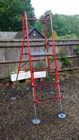 High platform hight adjustable
