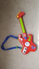 Kids toy rock guitar