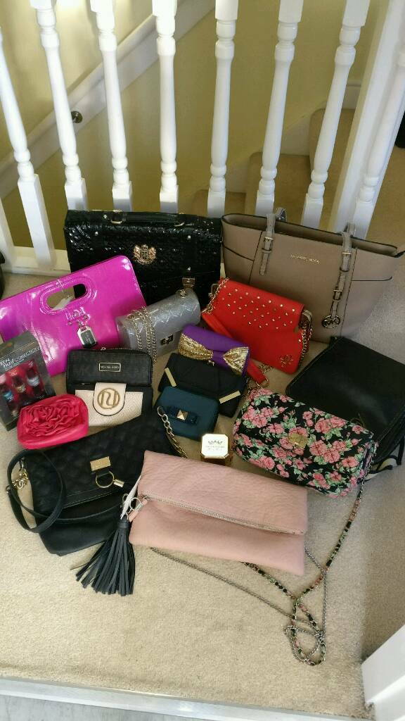 designer bag clearance 6v7k  Job lot designer bag clearance bundle