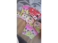Minnie mouse party set all brand new