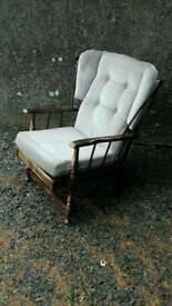 Wingback cottage chairs. Original condition